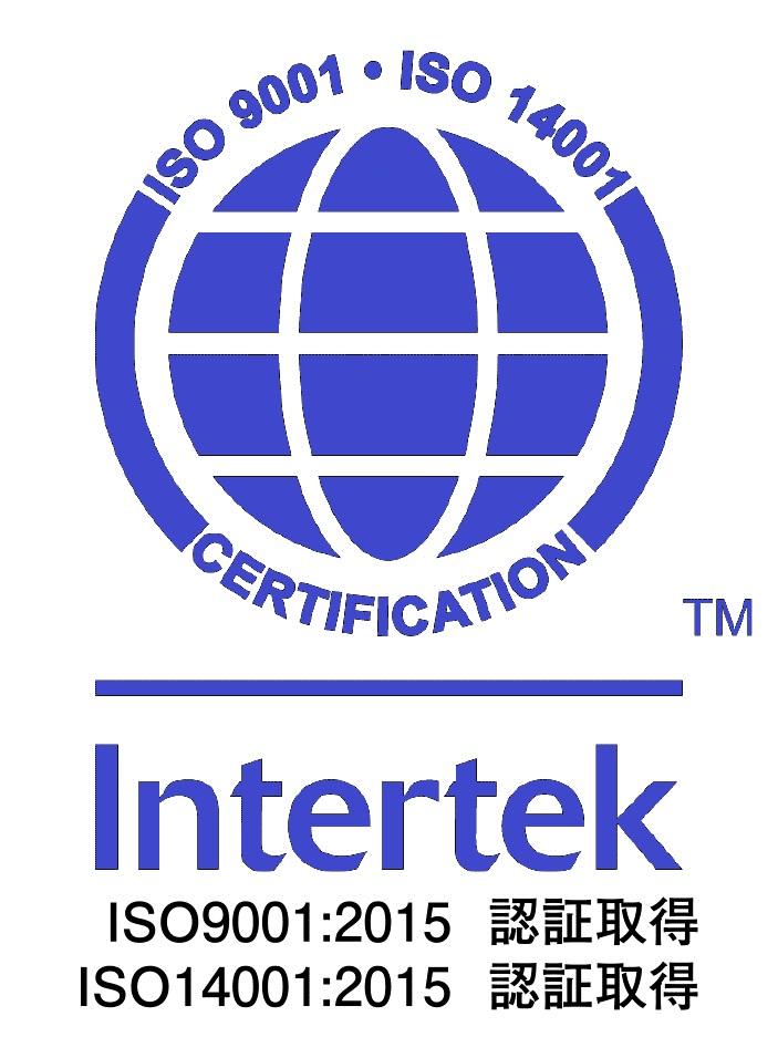 ISO9001:2008認証取得 ISO14001:2004認証取得